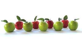 Bandiera del Apple Fotografia Stock Libera da Diritti
