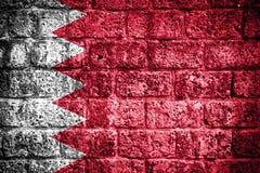 Bandiera del Bahrain Fotografie Stock Libere da Diritti