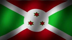 Bandiera del Burundi illustrazione vettoriale