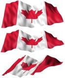 Bandiera del Canada Immagine Stock Libera da Diritti