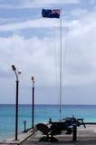 Bandiera del cuoco Islands Fotografie Stock Libere da Diritti