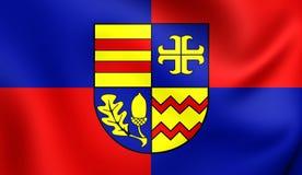 Bandiera del distretto di Ammerland, Germania Fotografia Stock Libera da Diritti