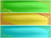 Bandiera del fogliame Fotografia Stock Libera da Diritti
