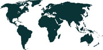 Bandiera del fondo del mondo di paese illustrazione vettoriale