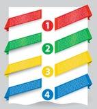 Bandiera del lato di disegno di Web per il Web site Immagini Stock