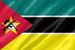 Bandiera del Mozambico royalty illustrazione gratis
