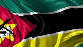 Bandiera del Mozambico archivi video