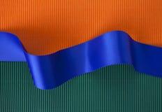 Bandiera del nastro blu Immagini Stock