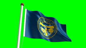 Bandiera del Nebraska royalty illustrazione gratis