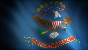 Bandiera del Nord Dakota royalty illustrazione gratis