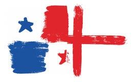Bandiera del Panama Fotografie Stock Libere da Diritti