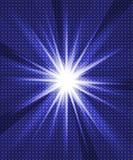 Bandiera del partito del ligh del raggio Fotografia Stock Libera da Diritti