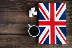 Bandiera del Regno Unito della Gran Bretagna e nordico dipinti Immagine Stock Libera da Diritti