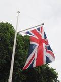 bandiera del Regno Unito (Regno Unito) aka Union Jack Fotografia Stock Libera da Diritti