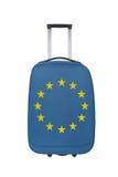 Bandiera del sindacato di Europa Fotografia Stock Libera da Diritti