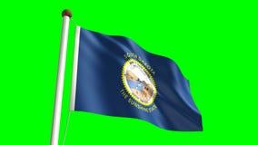 Bandiera del Sud Dakota illustrazione vettoriale