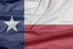 Bandiera del tessuto del Tennessee Piega del fondo della bandiera del Tennessee immagini stock