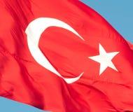 Bandiera del turco Fotografie Stock