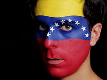 Bandiera del Venezuela Fotografia Stock Libera da Diritti
