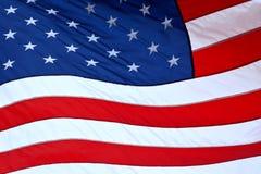 Bandiera dell'America Fotografia Stock
