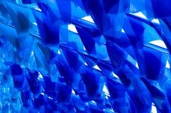 Bandiera dell'azzurro della priorità bassa Fotografia Stock