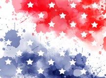 Bandiera dell'estratto di U.S.A. Fotografia Stock Libera da Diritti