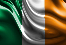Bandiera dell'Irlandese royalty illustrazione gratis