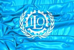 Bandiera dell'OIL illustrazione vettoriale