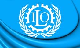 Bandiera dell'OIL royalty illustrazione gratis