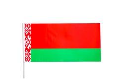 Bandiera della Bielorussia, Bielorussia, carattere, cultura, nazionale Fotografie Stock Libere da Diritti
