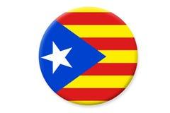 Bandiera della Catalogna illustrazione vettoriale