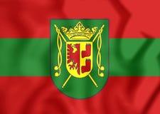 Bandiera della città Bassa Sassonia, Germania di Wittmund Immagini Stock Libere da Diritti