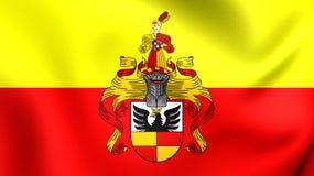 Bandiera della città di Hildesheim, Germania Fotografia Stock