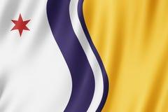 Bandiera della città di South Bend, Indiana Stati Uniti royalty illustrazione gratis