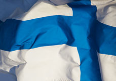 Bandiera della Finlandia Immagine Stock Libera da Diritti