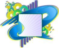 Bandiera della freccia Immagini Stock
