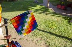 Bandiera della gente indigena Fotografie Stock