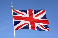 Bandiera della Gran Bretagna - il Regno Unito Fotografie Stock