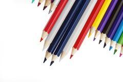 Bandiera della matita di colore la questa Tailandia Fotografia Stock Libera da Diritti