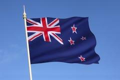 Bandiera della Nuova Zelanda Fotografia Stock