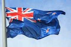 Bandiera della Nuova Zelanda Fotografia Stock Libera da Diritti