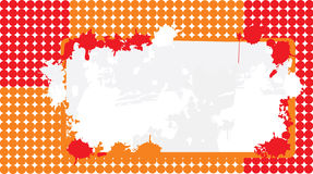 Bandiera della priorità bassa dai cerchi Royalty Illustrazione gratis