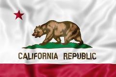 Bandiera della Repubblica di California illustrazione vettoriale