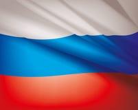Bandiera della Russia, fondo di vettore Immagine Stock Libera da Diritti