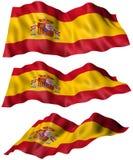 Bandiera della Spagna Fotografie Stock Libere da Diritti