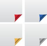 Bandiera della stagnola Fotografie Stock Libere da Diritti