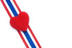 Bandiera della Tailandia Fotografie Stock