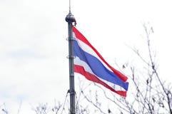 Bandiera della Tailandia Fotografia Stock