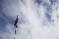 Bandiera della Tailandia Immagini Stock