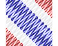 Bandiera della Tailandia illustrazione di stock